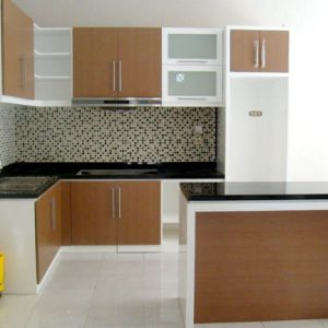 kitchen set albaari interior palembang